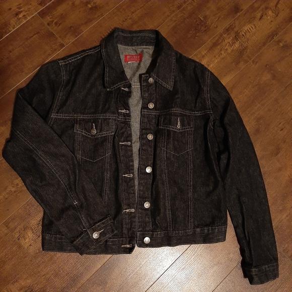 Roots Jackets & Blazers - Roots Black Denim Jean Jacket Size Small